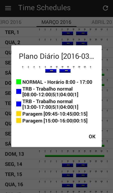 Time Schedules Visualice Su Horario De Trabajo De Forma
